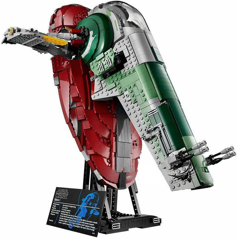 2067 Pcs Star Wars The Genuine UCS Slave I Slave NO.1 Building Blocks Kit Classic Bricks Creator <font><b>05037</b></font> 75060 75243 image