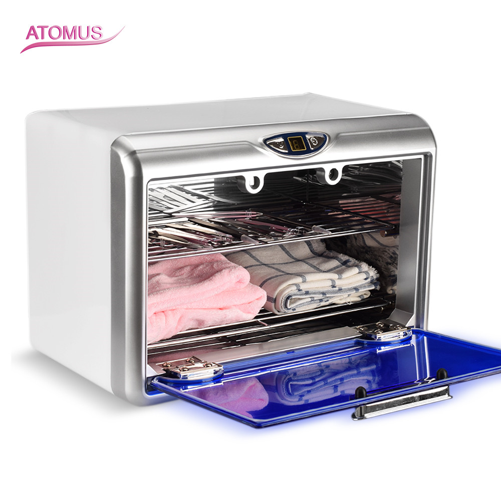 Specialty Ultraviolet UV Sterilizer Double Layer Towel Disinfection Cabinet Beauty Salon Nail Art Equipment Tattoo Accesories