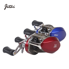 JITAI 9+1BB Ball Bearings China Brand Baitcasting Fishing Reels Fishing Coils Centrifugal Brake System 7.0:1 High Speed Reel 1pcs 50tac100b 50 tac 100b suc10pn7b 50x100x20 mochu high speed high load capacity ball screw support bearings