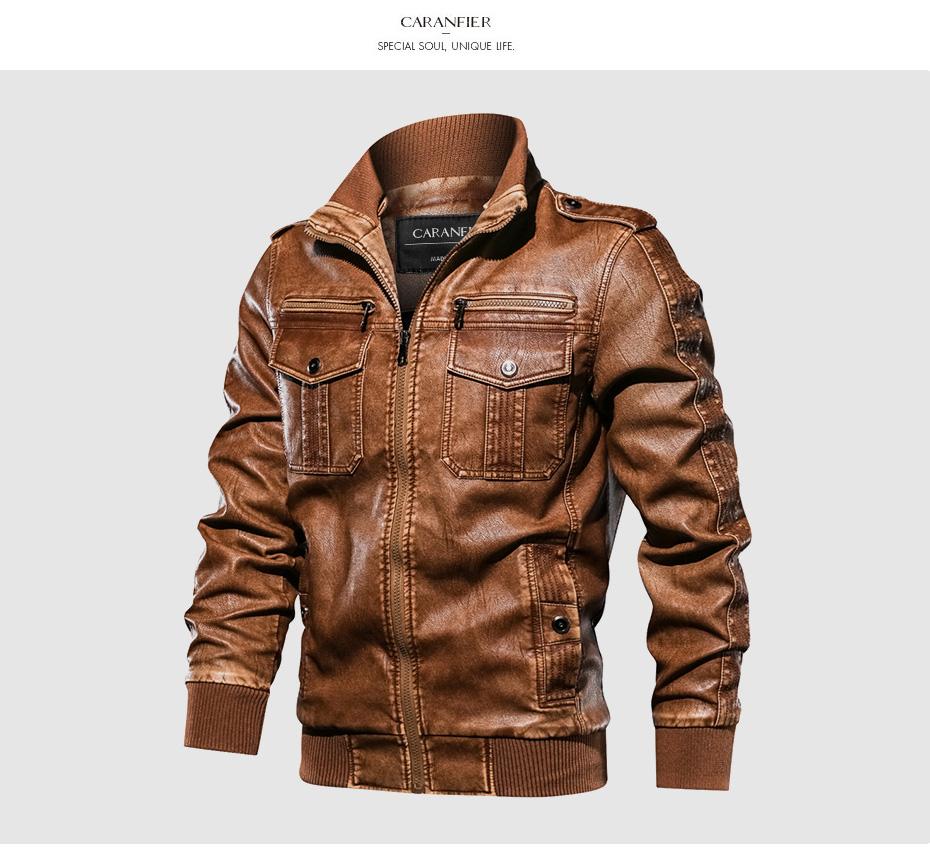 Le Jeune moderne.Automne - Hiver-Blouson CARANFIER pour homme-Adoptez le style jeune et moderne avec ce blouson imitation cuir de chez CARANFIER. Plusieurs style et taille au choix.