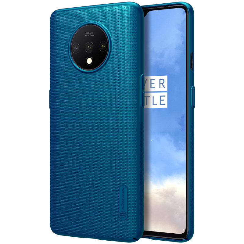 NILLKIN OnePlus 7T Case One Plus 7T 1+7T Cover Super Frosted Shield Hard PC Back Cover Phone Cases