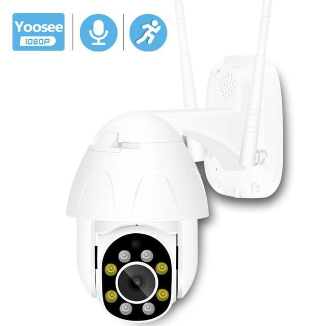 BESDER 2MP Yoosee واي فاي كاميرا IP الصوت سرعة قبة PTZ كاميرا الأمن تتبع السيارات P2P سحابة لاسلكية CCTV كامارا مع فتحة SD