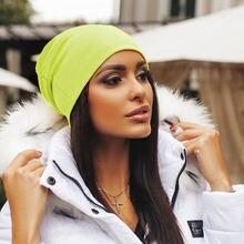 Унисекс женские и мужские теплые вязаные вещи для зимы лыжная