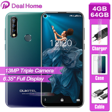"""Oukitel C17 Pro 6.35"""" Full screen 4GB RAM 64GB ROM 13MP Triple Rear Camera Smartphone MT6763 Octa Core 3900mAh 4G Mobile Phone"""