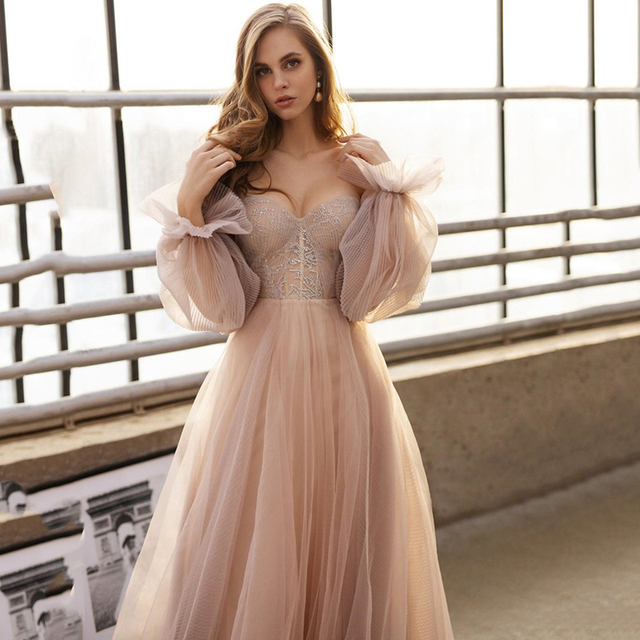Eightree Pink Wedding Dresses  Plus Size Wedding Gowns 2