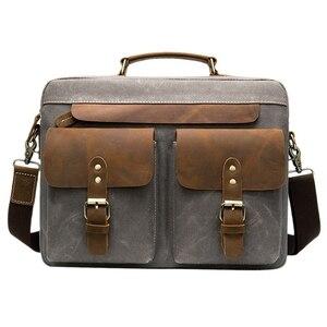Men Briefcases Men's Bag Genui