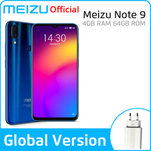 Meizu Note 9 4GB CDMA/LTE/WCDMA/GSM Mcharge Octa Core Fingerprint Recognition/face Recognition