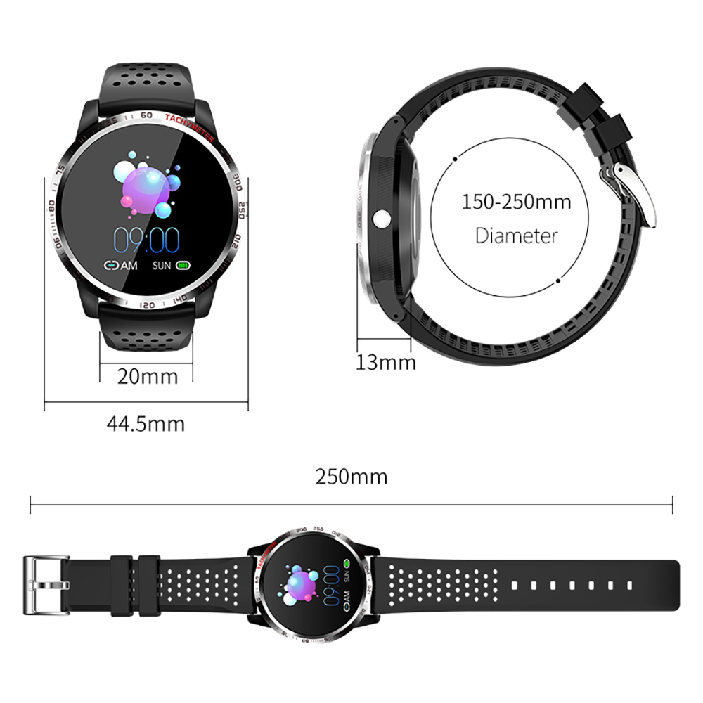 Image 5 - Bolzlun ECG PPG HRV Smart Watch Blood Pressure Heart Rate Monitor Band IP67 waterproof Multisport Fitness tracker Smart BraceletSmart Wristbands   -
