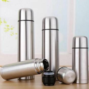 Best Stainless Steel Thermos Bottle - New Double Wall Insulated BPA Free Hot Coffee or Cold Tea