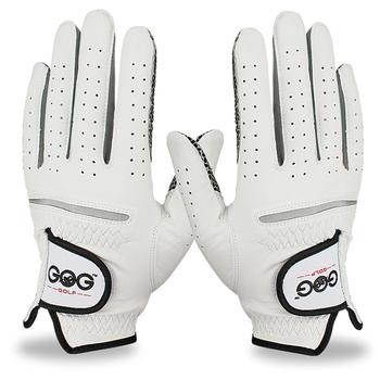 Darmowa wysyłka oryginalne skórzane rękawiczki golfowe męskie lewego prawego dłoni miękkie oddychające stuprocentowa skóra owcza rękawice golfowe akcesoria do golfa tanie i dobre opinie Prawdziwej skóry M1ST002