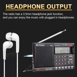 Image 5 - Retekess TR608 FM MW SW 라디오 에어 밴드 디지털 휴대용 여행 라디오 24 시간 시간 시계 수면 타이머