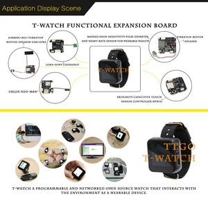 Image 5 - T İzle ESP32 programlanabilir giyilebilir çevre etkileşim WiFi Bluetooth ESP32 Lora geliştirme kiti dokunmatik ekran ESP8266