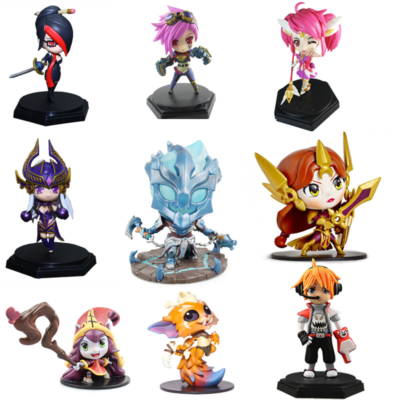 LOL League Of Legends Figure Action Varus Valentine's Skin Model Toy Action-figure 3D Game Heros Anime Party Decor Creative Gift