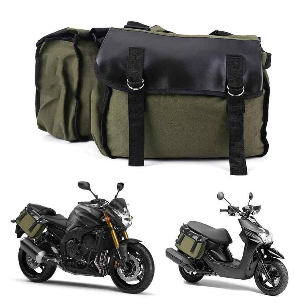ใหม่คู่รถจักรยานยนต์รถจักรยานยนต์หมวกนิรภัย Moto กันน้ำกระเป๋าเดินทางกระเป๋าเดินทาง Saddlebags และเสื้อกันฝน Rack กระเป๋าด้านข้างกระเป๋าเป้สะพายหลังบรรจุ