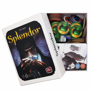 Splendor Board Game Carton Investment Financing Family Parent-child Interaction Cards Game English Version