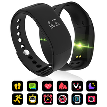 V66 Waterproof Smart Bracelet Heart Rate Monitor Men Women Smart Band Alarm Clock Sports Watch SmartWatch For Android/iOS c5 smart watch mtk2502 heart rate monitor sports clock smartwatch waterproof relogio support sim card for ios android pk amazfit