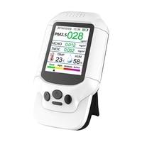 Topo! verificador da poluição da qualidade do ar  medidor da temperatura e da umidade  sensor  detecta pm2.5/pm10/pm1.0 m icron poeira  tvoc interno do teste|Medidores de vazão| |  -