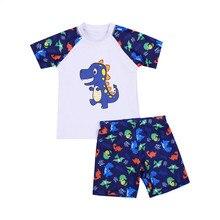 Swimwear Children Bathing-Suits Boys Beachwear Baby-Boys Two-Pieces Kids Summer Cartoon