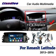مشغل الوسائط المتعددة للسيارات مزود بوحدة صوت ستيريو وراديو للسيارة من رينو طراز Latitude 2010 ~ 2016 يعمل بنظام الأندرويد ومزود بخريطة كاربلاي ونظام تحديد المواقع والملاحة