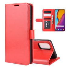 30pcs/lot R64 Wallet Leather Stand PU+TPU Cover with card slot For Samsung S20 Plus S20 Ultra A51 A71 A11 M60S A81 Note 10LITE