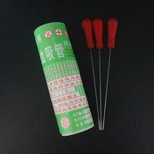1 boîte (400 pièces) laboratoire 20ul 40ul 60ul 80ul 100ul verre jetable micro tube de prélèvement sanguin pipette capillaire en verre