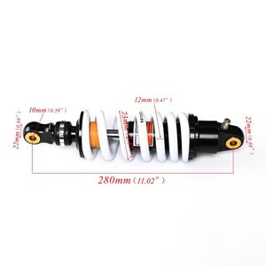 Image 5 - Tdpro 280mm 후면 충격 흡수기 오토바이 서스펜션 스프링 125cc 140cc 160cc 먼지 핏 프로 자전거 쿼드 atv 1200lbs