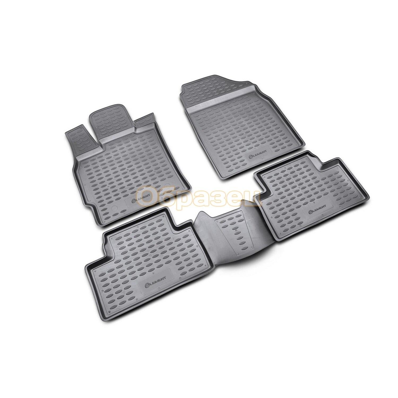 Floor mats Nissan Almera  2012  4 PCs (PU) Nissan Almera)|Floor Mats| |  - title=