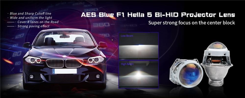 عدسة عرض Aes Kingkong F1 Hella 5 ثنائية زينون زرقاء أو عالية الوضوح مقاس 3 0 بوصة Lhd Rhd عدسة عرض التحديثية تعديل المصابيح الأمامية Bi Xenon Hid Aes Lenslens Blue Aliexpress