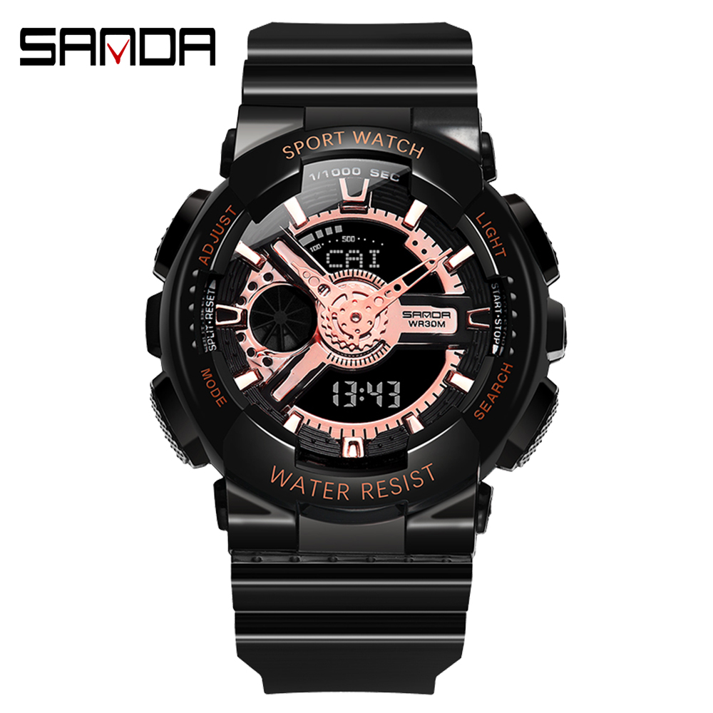 2020 SANDA Military Men's Watch Top Brand Luxury Waterproof Sport Wristwatch Fashion Quartz Clock Couple Watch relogio masculino 20