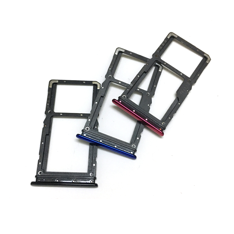For Xiaomi Redmi Note 7 Note7 Sim Card Tray Slot Holder Replacement Parts SIM  Card Adapters  - AliExpress