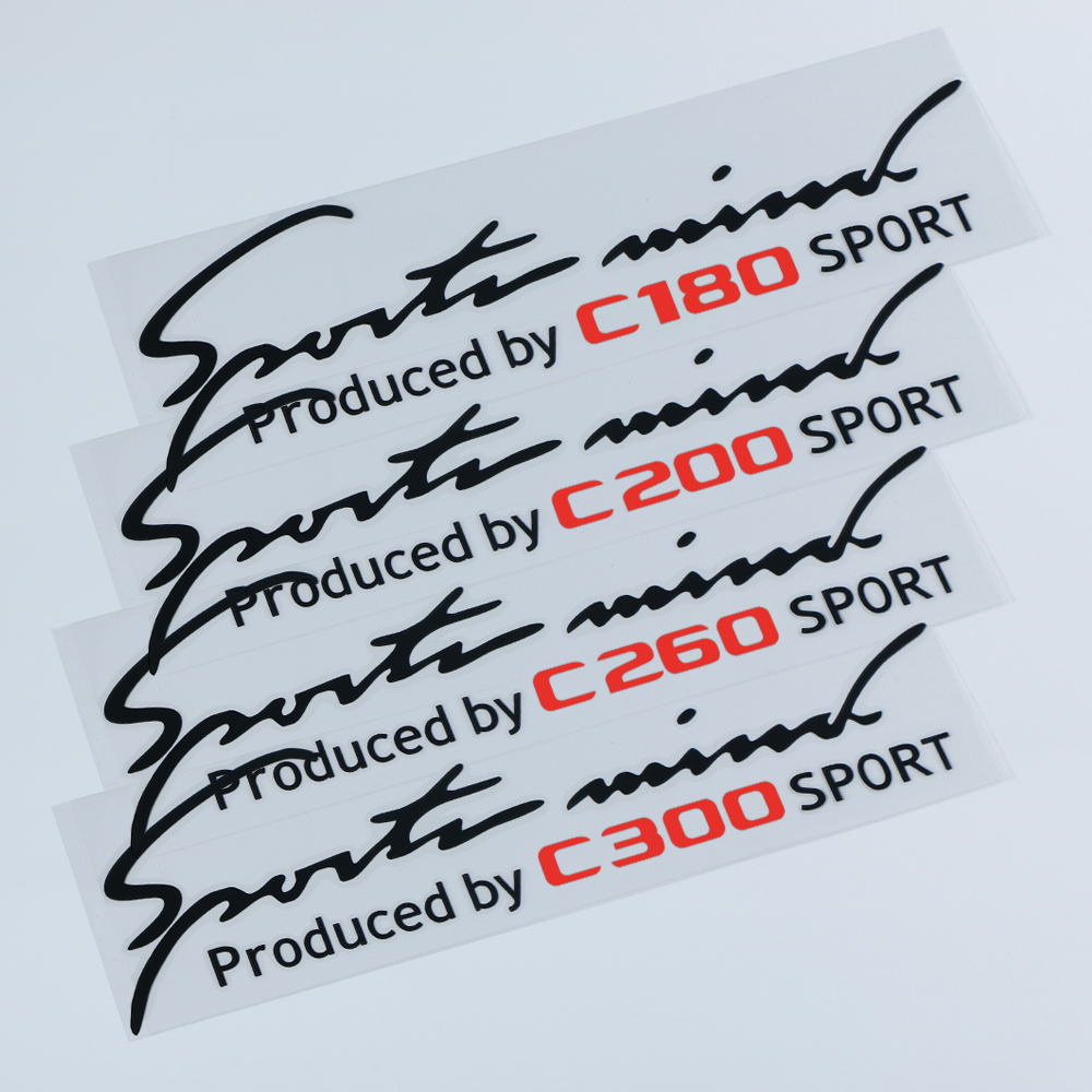 Car Lamp Eyebrow Stickers For <font><b>Mercedes</b></font> <font><b>Benz</b></font> <font><b>W201</b></font> W202 W203 W204 W205 W190 C-Class C180 C200 C260 C300 Auto Decal Car Accessories image