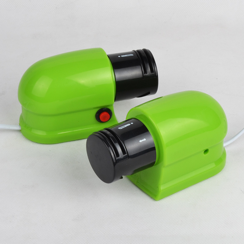 Household Electric Knife Sharpener Multi-functional Bench Grinder Grinding Scissors Fruit Knife Fully Automatic Small Sharpener