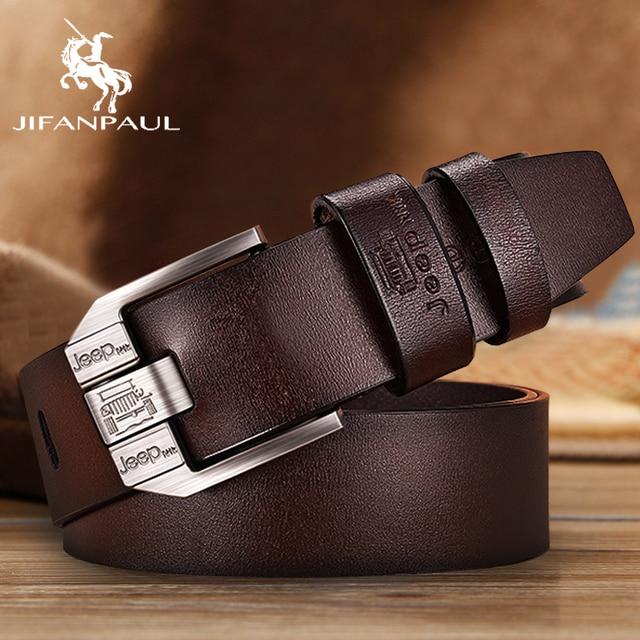 JIFANPAUL Genuine Leather Luxury Belt 2