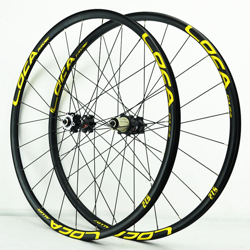 MTB Bike 26 / 27.5 / 29 Inch Quick Release Wheels Straight Pull 4 Bearing Disc Brake Wheel Six Claw 11/12 Speed Wheel set image