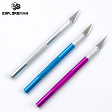 Knife-Tools-Kit Non-Slip-Blades Mobile-Phone-Pcb Carving Metal Scalpel Diy-Repair