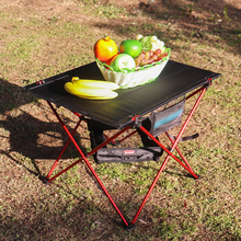 Foldable Picnic Table Ultra Light Aluminum Outdoor Camping Waterproof