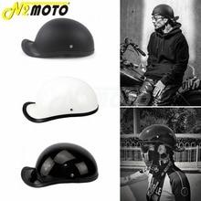 Motorcycle Helmet Open Face Retro Half Helmet Motorbike Helmet Cafe Racer Casco Racing Off Road Helmet Capacete Head Protection