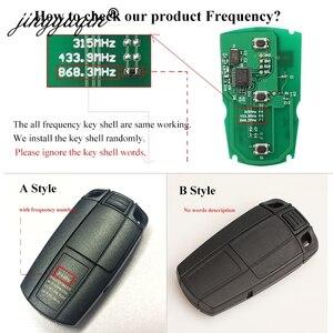 Image 2 - Jingyuqin 자동차 원격 스마트 키 315Mhz /433/ 868MHz BMW 1/3/5/7 시리즈 CAS3 X5 X6 Z4 자동차 열쇠가없는 제어 송신기 칩