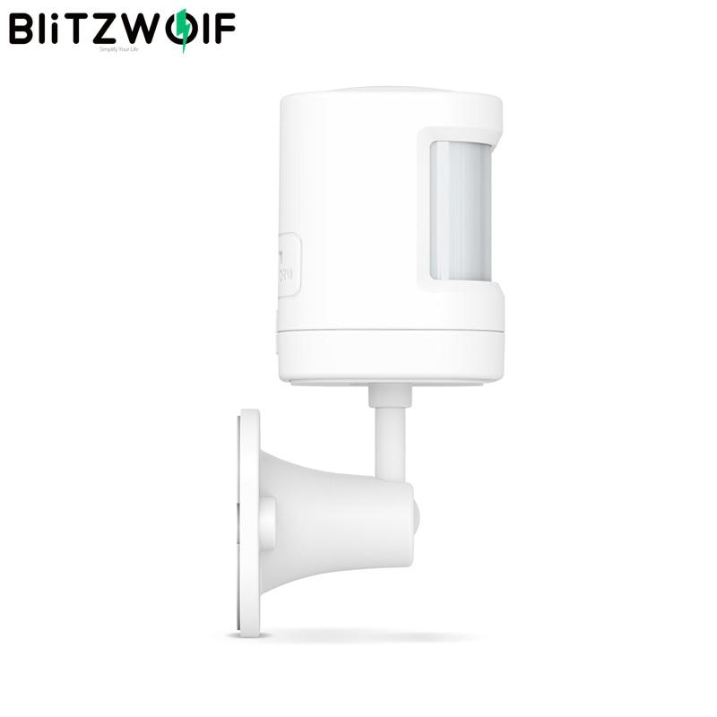 BlitzWolf BW-IS6 433MHz Wireless Arm Disarm Real-time Alarm Push APP Control PIR Motion Sensor For Smart Home Alarm System