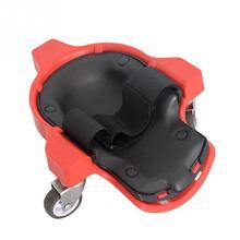 Инструмент планеринг строительство работа гибкий защитный практичный мобильных работников регулируемый ремень наколенники пластиковые прокатки колеса/S