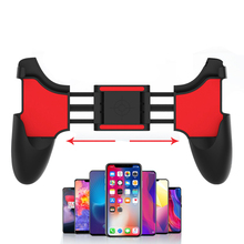 PUBG Mobile Game Controller Gamepad Trigger Free Button Fold Gamepad Joystick For Android Mobile Phone Games handle Accessories pubg controller for games android ios gamepad shortcut button game assisted shooting handle peripheral pubg controller