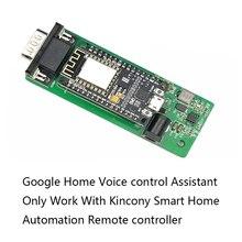 جوجل الرئيسية التحكم الصوتي مساعد نوديمكو ESP8266 وحدة النظام الذكي اللاسلكية واي فاي IOT مجلس التنمية