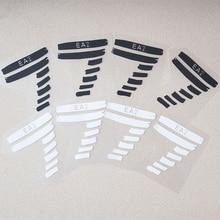 Модные нашивки с утюгом Vynil термопереводные наклейки для глажки одежды с утюгом номер 7 черно-белые принты