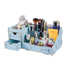 Cosmetic Organizer DIY Desk Stationery Holder Desktop Multifunction Office Storage Box School Glosen D9122