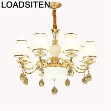 Lampade Chandelier Moderne Design Nordic Crystal Light Luminaria Lampara Colgante Suspension Luminaire Suspendu Hanging Lamp