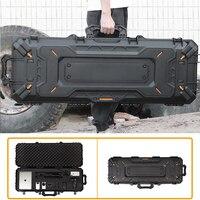 Military Tactical Rifle Protective Box Waterproof Big Airsoft Shooting Hunting Portable Pistol Hard Case for Camera Gun Storage