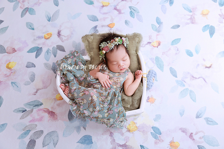New newborn photo props crib baby heart-shaped wooden bed container studio baby photography photo props