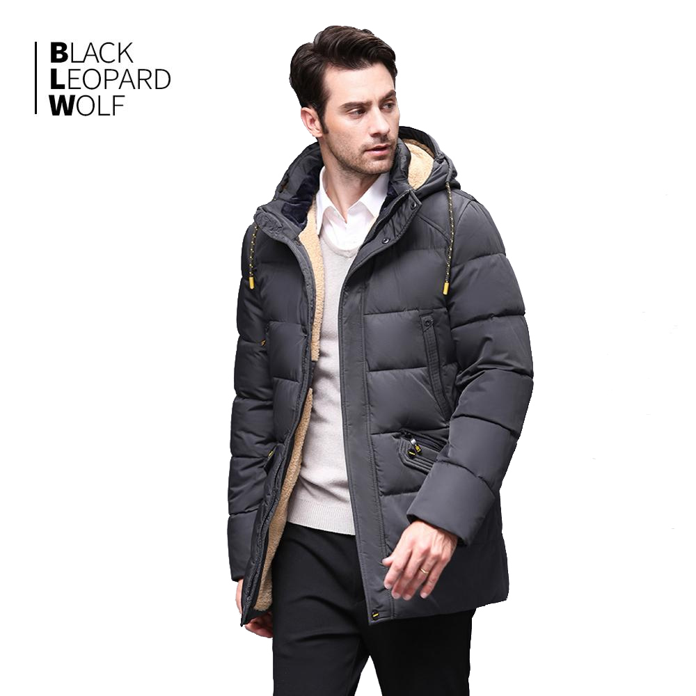 Blackleopardwolf 2019 Winter Down Jacket Men's Coat Men's Coat Men's Coat Alaska Detachable Long Warm Fashion Coat BL-833