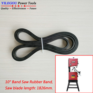 "Image 5 - 2 Pieces Band Saw Rubber Band Voor 8 ""(1425Mm), 9"" (1570 Of 1575Mm), 10"" (1826Mm) band Saw Scroll Wiel Rubber Ring."