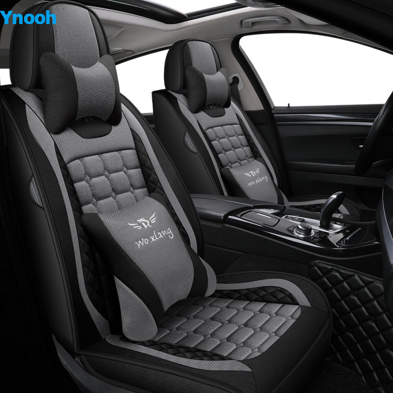 Ynooh Car seat covers For dodge ram 1500 nitro challenger cailber car protector